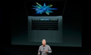 Phil Schiller introduces the new MacBook Pro.