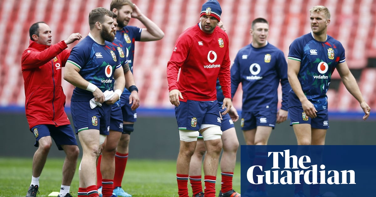 Lions rocked before Sharks match after two players forced to isolate
