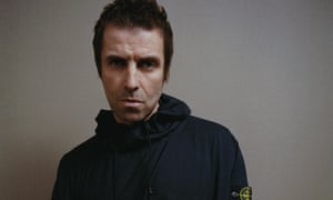 Confronting middle age … Liam Gallagher