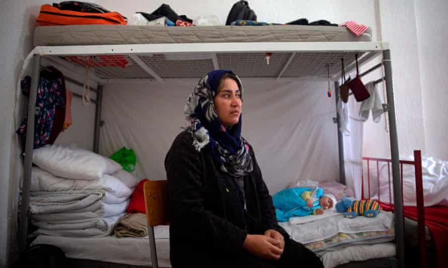 Asurma Arab, from Afghanistan, has been in a Serbian refugee centre for two years. She had hoped to go to Hungary.