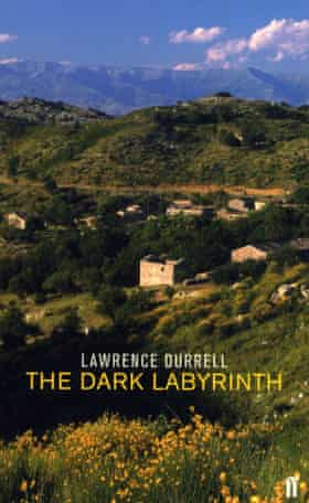 Cover of Lawrence Durrell's The Dark Labyrinth
