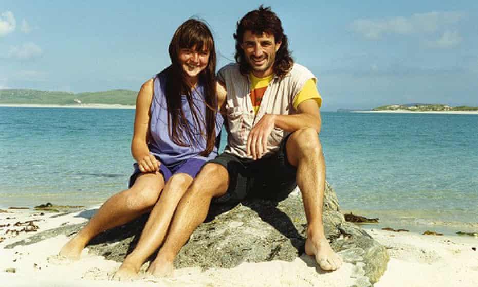 Helen Steel and John Dines