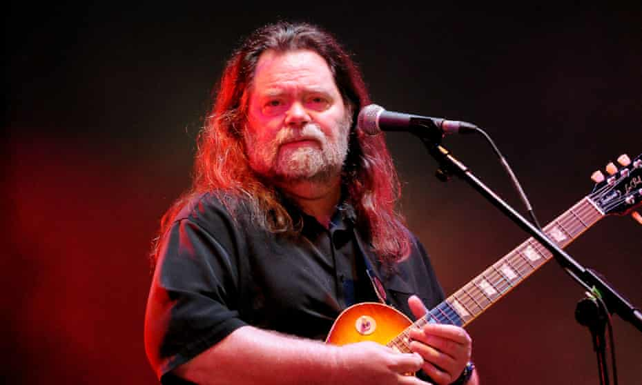 Roky Erickson performing at Wireless festival in London in 2011.