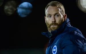 Brighton Under-23s coach Simon Rusk.