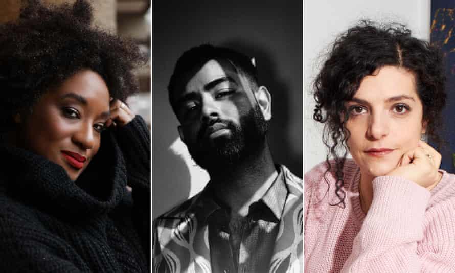 Aja Barber, Rahemur Rahman and Celine Semaan