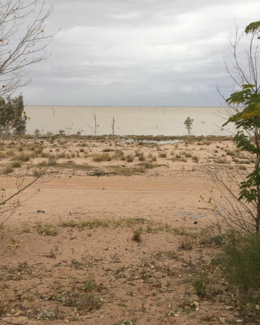 The view of the Menindee lake from the $5,000 property