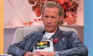 Laurence Fox appears on Lorraine to promote his 2019 album, A Grief Observed.