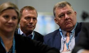 Tony Abbott and Craig Kelly