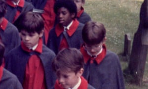 David Lammy at The King's School, Peterborough His friend James is in the front of the shot
