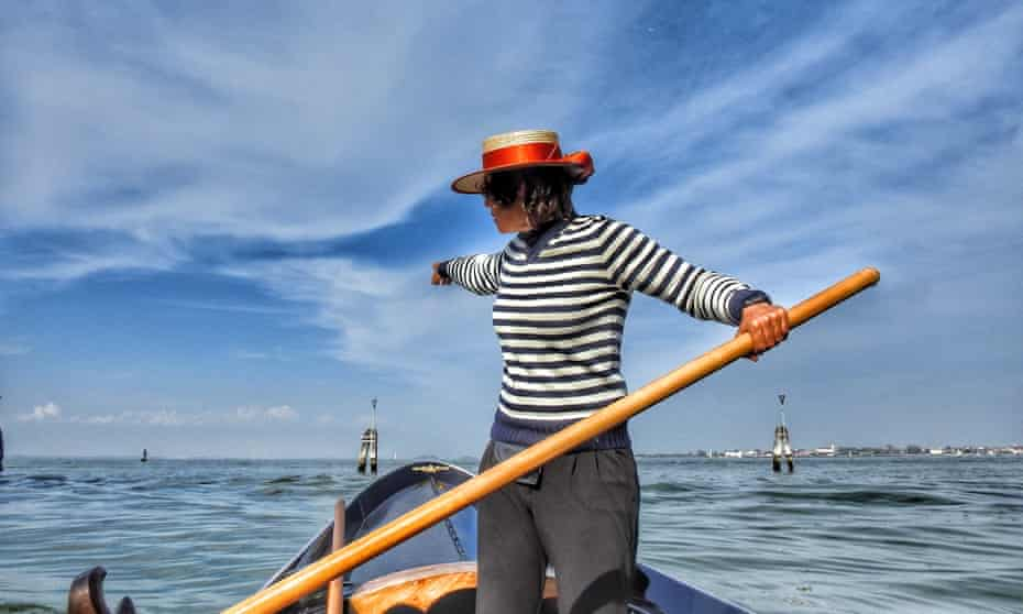 The first female gondolier to be officially granted a license came 900 years after the profession first emerged.