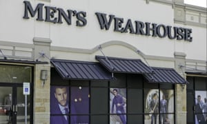 Men's Wearhouse and JoS. A. Bank are specialist suit retailers operated by Tailored Brands.