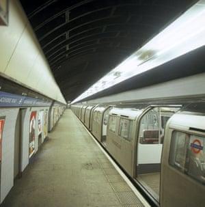 Blackhorse Road tube station in 1974