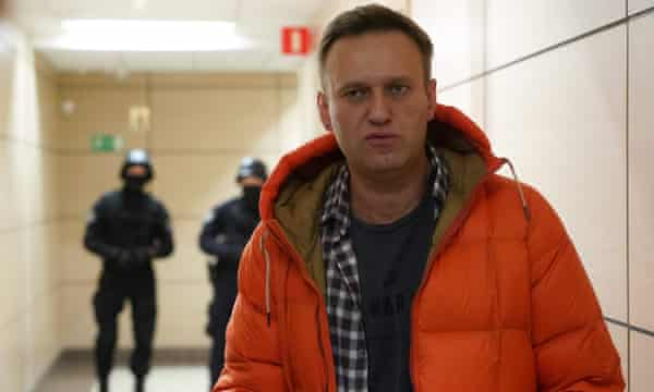Alexei Navalny in Moscow in December.