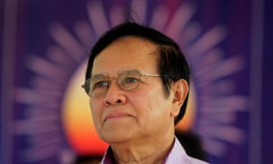 Kem Sokha, co-founder of the Cambodia National Rescue Party.