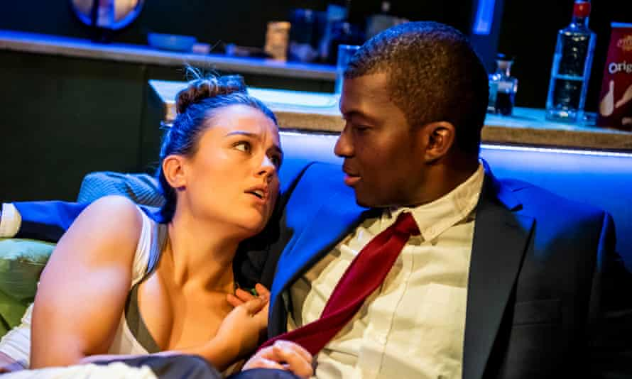 Emma Denly as Alice and Claudius Peters as Anthony.