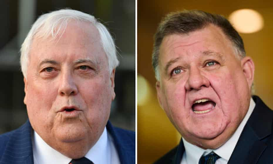 United Australia party founder Clive Palmer and UAP leader Craig Kelly have been sending spam SMSs to Australians.