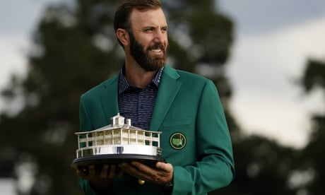 Unstoppable Dustin Johnson cruises to record-breaking first Masters victory