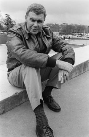 Raymond Carver in Paris, April 1987.