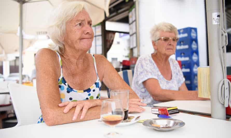 british pensioners in benalmadena, spain