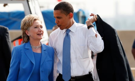 There was enthusiasm for these two new faces who stood for a shared worldview ... senators Obama and Clinton in 2008