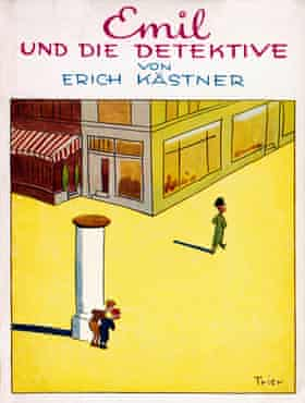 The cover of Emil and the Detectives