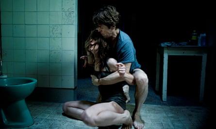 Charlotte Gainsbourg and Willem Dafoe in Lars von Trier's Antichrist