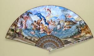 A 1700s fan.