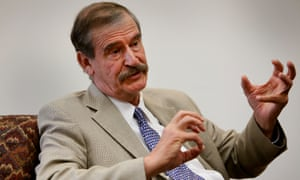 'I'm not going to pay for that fucking wall,' former Mexican president Vicente Fox said in an interview with Fusion.