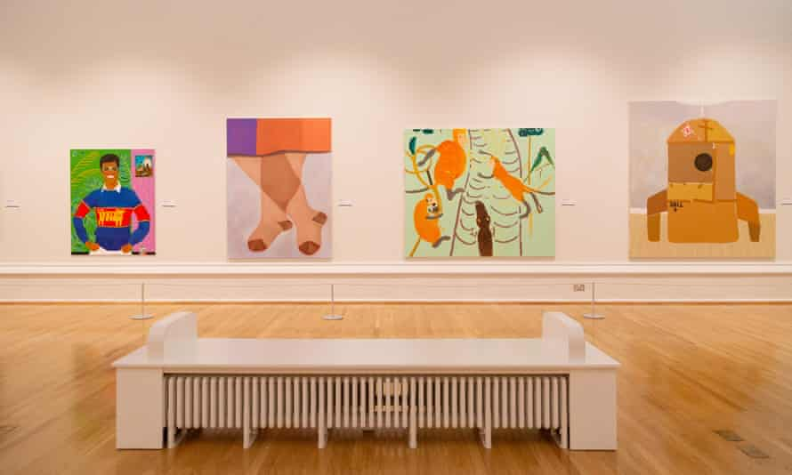The John Moores Painting prize at Walker Art Gallery, Liverpool.
