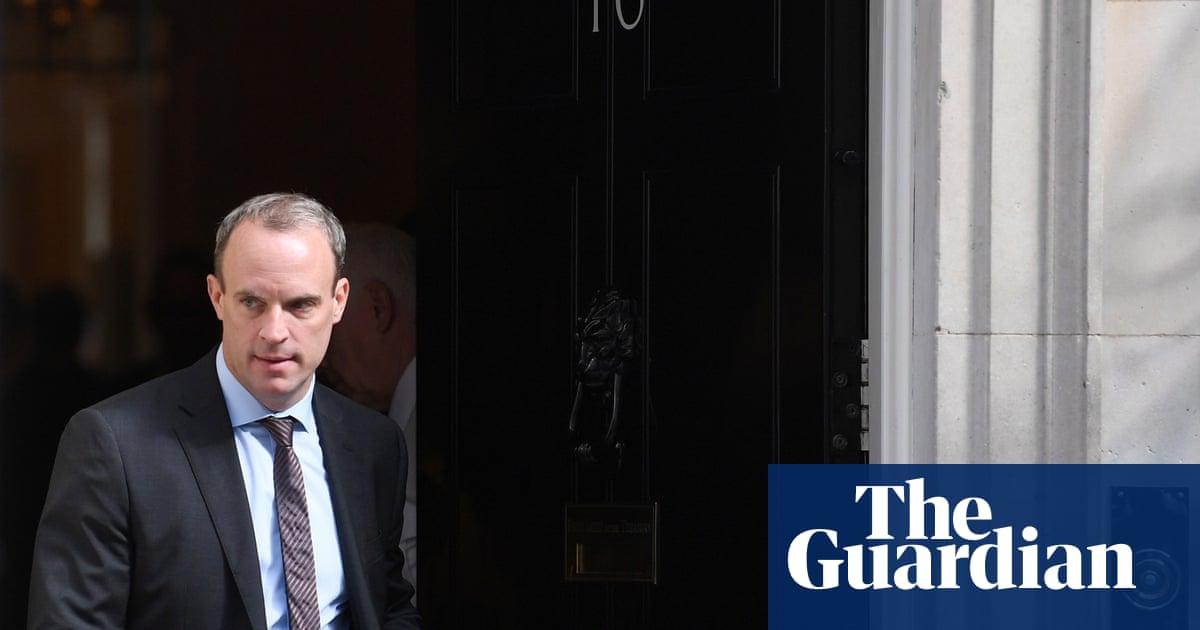 Raab accuses EU of political posturing before Johnson talks