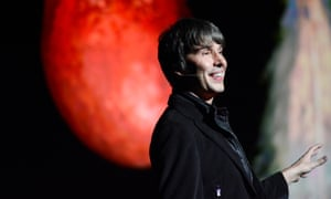 'Mars, Bringer of War, blood red in the imagination, has always been a mirror for our nightmares and dreams' ... Professor Brian Cox.