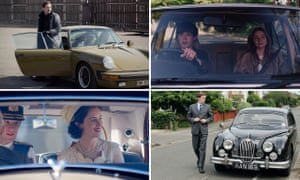 Clockwise from top left: The Bridge; The End of The F***ing World; Endeavour; The Crown