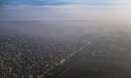 WHO: air pollution causes 7m premature deaths a year – video