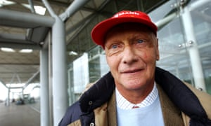 Niki Lauda at Stansted