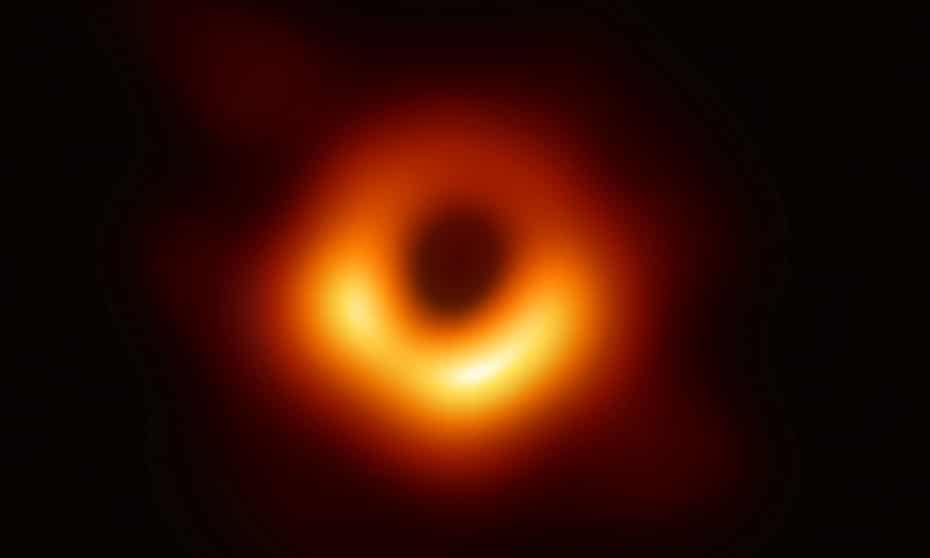 The first photo of a black hole