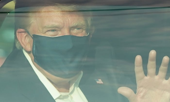 Coronavirus live news: Trump drive criticised as 'irresponsible' by Walter Reed physician; global cases pass 35m