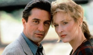 'You have a powerful voice' … Robert De Niro on his co-star Meryl Streep, seen here in Falling in Love (1984).