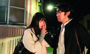 Ayame Misake and Masatoshi Nagase in Radiance.