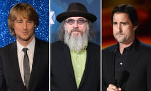 Prison pals ... Owen Wilson, director Larry Charles and Luke Wilson