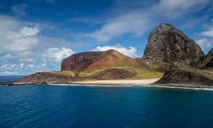 The South Atlantic island of Trindade