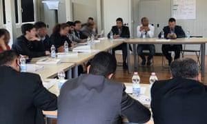 Abd al-Rahman Milad, known as Bija, took part in a meeting with Italian officials and  Libyan coastguard.