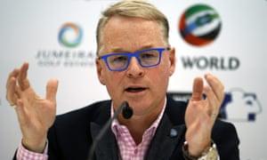 Keith Pelley, European Tour chief executive