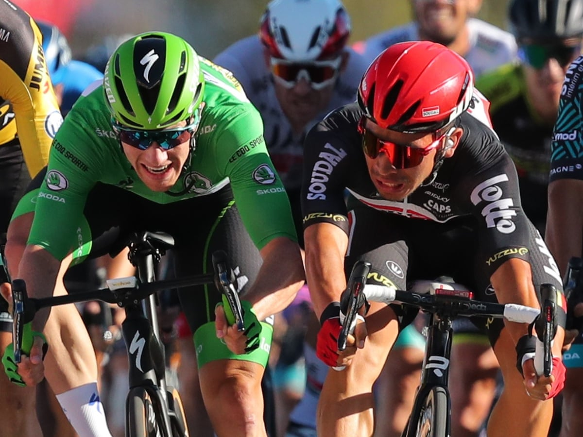 Tour De France 2020 Caleb Ewan Wins Stage 11 In Chaotic Finish As It Happened Sport The Guardian