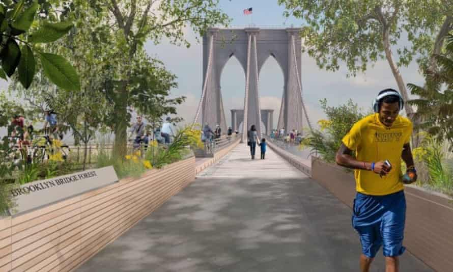 One of the six finalists. The New York city council launched the design competition earlier this year.