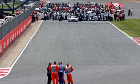 Silverstone to host two August grands prix after F1 roars back in July