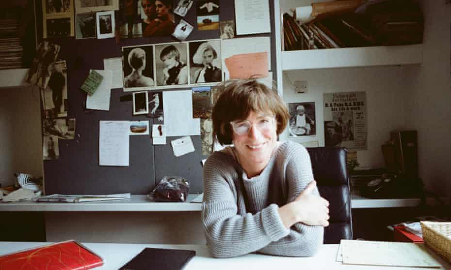 Margaret Howell in her studio in 1978.