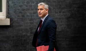Stephen Barclay arrives to attend a cabinet meeting