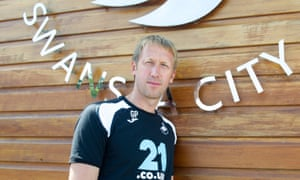 Graham Potter moved to south Wales after eight years in Sweden.