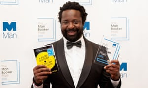 Marlon James, pictured at the 2015 Man Booker ceremony the night he won for A Brief History of Seven Killings.