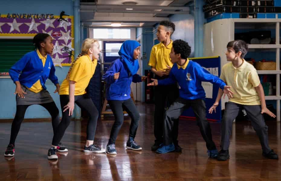 'Yeah, I get this!' … pupils at Roger Ascham school rehearse Nutcracker!